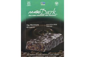 NuGo Dark Mint Chocolate Chip Bars - 12 CT