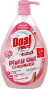 Гель для миття посуду концентрований Ніжні руки Dual Power 1000мл