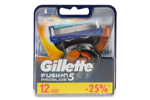 Касети змінні для гоління Proglide Fusion 5 Gillette 12шт