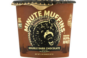 Kodiak Cakes Minute Muffins Double Dark Chocolate