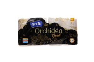Папір туалетний Grite Orchidea Gold 8шт