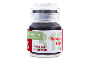 Чай чорний цейлонський Nuwara Eliya Tea Icons Teahouse с/б 50г