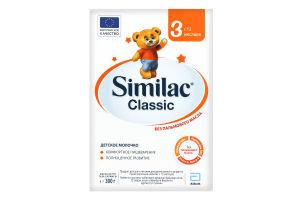 Смесь адаптированная сухая молочная для детей от 12мес Classic 3 Similac к/у 300г