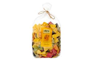 Макаронные изделия пятицветные Фарфалле Арлекино Casa Rinaldi м/у 500г