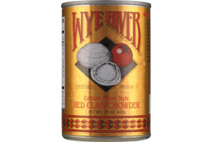 Wye River Eastern Shore Style Red Clam Chowder Soup