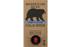 Wandering Bear Cold Brew Coffee On Tap Organic Vanilla
