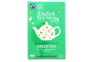 Чай зеленый English Tea Shop органический