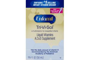 Enfamil Tri-Vi-Sol Liquid Vitamins A, C & D Supplement