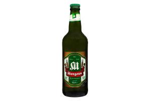 Пиво 0.5л 4.2% светлое непастеризованное Микулин Микулинецьке с/б