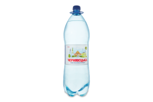 Вода питна сильногазована Чернівецька п/пл 2л