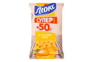 Чипсы картофельные Сыр Люкс м/у 183г