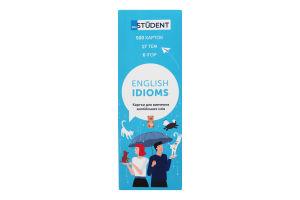 Карточки для изучения английских слов English Idioms English Student 1шт