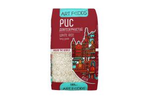Рис длиннозернистый шлифованный Art Foods м/у 1000г