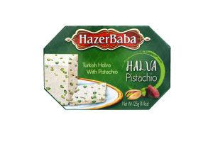 Халва тахинная Hazer Baba с фисташками