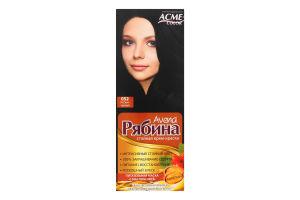 Крем-краска для волос №052 Иссиня-черный Рябина Avena Acme Color 1шт