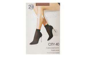 Носки женские Incanto City 40den naturel 2пары