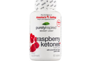 Purely Inspired Weight Loss Raspberry Ketones+ - 60 CT