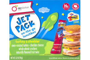 Revolution Foods Jet Pack Turkey & Cheddar