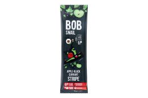 Цукерка фруктово-ягідна Яблучно-чорносмородиновий страйп Bob Snail м/у 14г