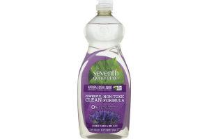 Seventh Generation Natural Dish Liquid Lavender Flower & Mint
