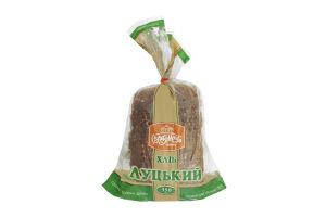 Хлеб нарезной Луцкий с кунжутом Рум'янець м/у 350г