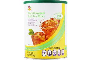 Ahold Decaffeinated Natural Lemon Flavor Iced Tea Mix