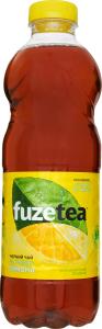 Чай холодний безалкогольний негазований Чорний чай зі смаком лимона Fuzetea п/пл 1л