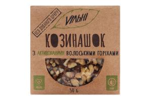 Козинаки с активированными грецкими орехами Козинашок Vільні к/у 50г