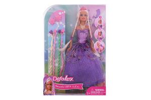 Кукла для детей от 3лет №8182 Lucy с косичками Defa 1 шт
