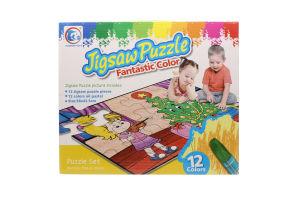 Пазл-раскр Jigsaw Puzzle Новый год 12эл 132086-JP