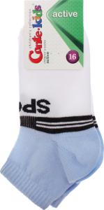 Шкарпетки дитячі Conte Kids №13C-34СП 16 білий-блакитний