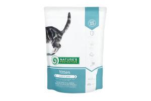 Корм для котят Nature's Protection Kitten