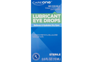 CareOne Lubricant Eye Drops