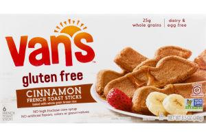Van's Gluten Free French Toast Sticks Cinnamon - 6 CT