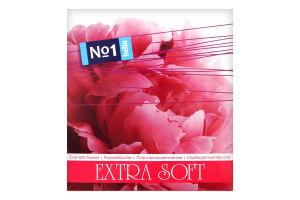 Платочки бумажные 2-х слойные Extra Soft №1 Bella 80шт