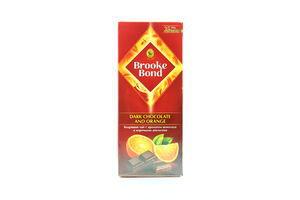 Чай черный с корками апельсина Dark chocolate and orange Brooke Bond к/у 25х1.5г