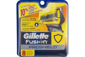 Gillette Fusion Proshield Cartridges - 8 CT