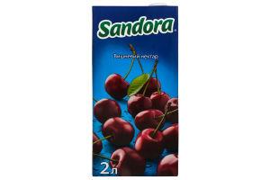 Нектар вишневый осветленный Sandora т/п 2л