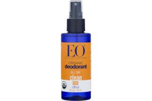 EO Organic All Day Clean Deodorant Citrus