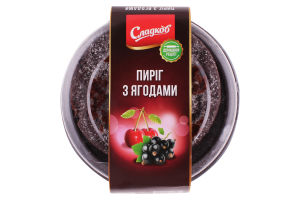 Торт Сладков пирог с ягодами