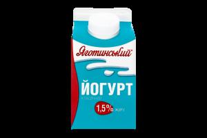 Йогурт Яготинський класичний 1,5% п/п 450г