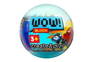 Конструктор для дітей від 3років №PL-920-13 Wow Block Iblock 1шт