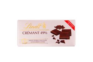 Шоколад гіркий TAF CREMANT 49% 22*100