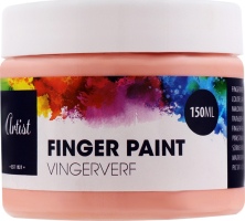 Краска д/рисования пальцами Артист в ассортим
