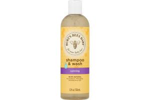 Burt's Bees Baby Shampoo & Wash, Calming, 12 Ounces