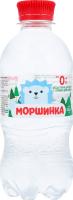 Вода для детей с рождения питьевая негазированная Моршинка п/бут 0.33л