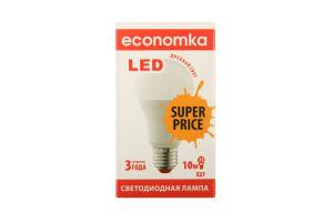 Лампа светодиодная Economka LED A60 10W E27 SP 4200K 1шт