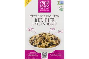 One Degree Organic Foods Veganic Sprouted Red Fife Raisin Bran
