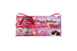 Цукерки шоколадні з молочною начинкою Happy Holidays Kids Любимов к/у 100г