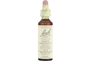 Bach Original Flower Remedies White Chestnut